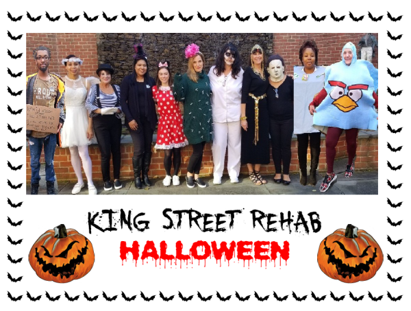King Street Rehab Staff Halloween Picture